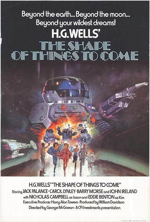 H. G. Wells The Shape of Things to Come movie poster
