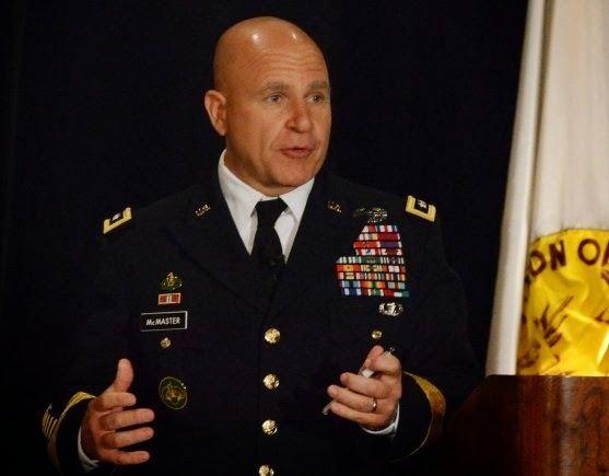 H. R. McMaster CDR Salamander Lt Gen HR McMaster USA Lays Down a Marker