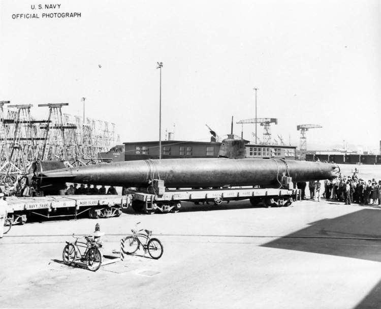 HA. 19 (Japanese Midget Submarine) Submarine Photo Index