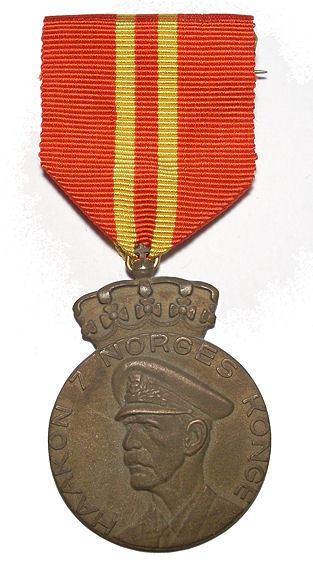Haakon VII 70th Anniversary Medal