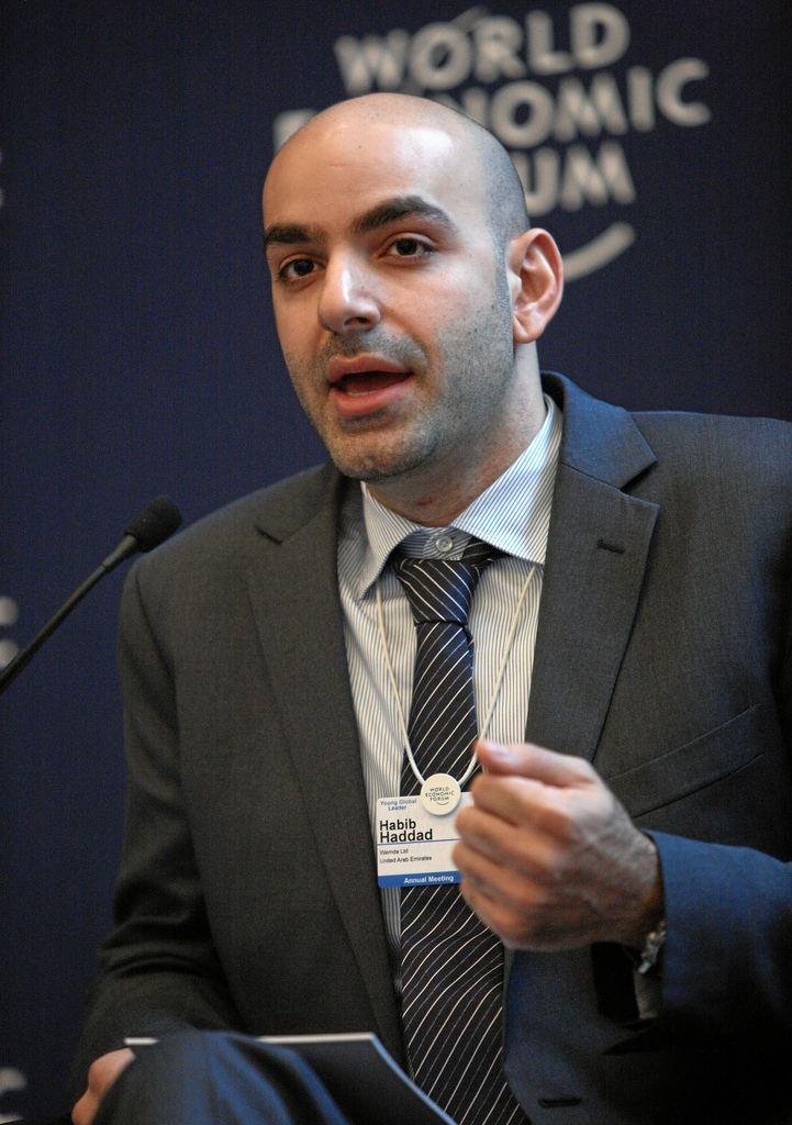 Habib Haddad Habib Haddad World Economic Forum Annual Meeting 2012 Flickr