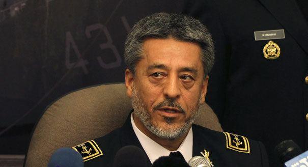 Habibollah Sayyari Admiral Habibollah Sayyari During War Times Iran