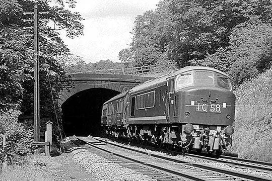 Haddon Tunnel Haddon Tunnel Derbyshire June 3915