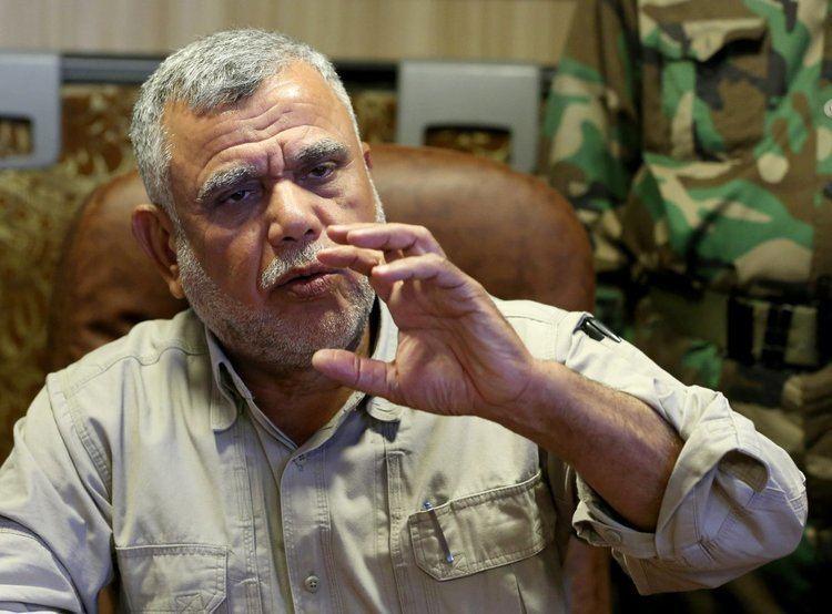 Hadi Al-Amiri Iraq militias say they don39t need US help in Anbar