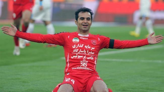 Hadi Norouzi PressTVIran soccer player dies of heart attack