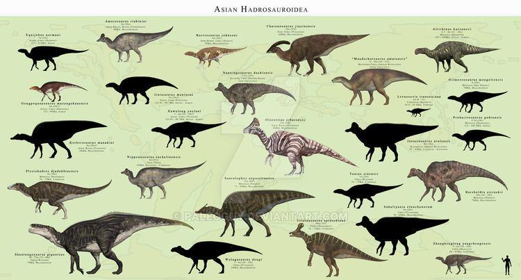 Hadrosaurid hadrosaurid DeviantArt