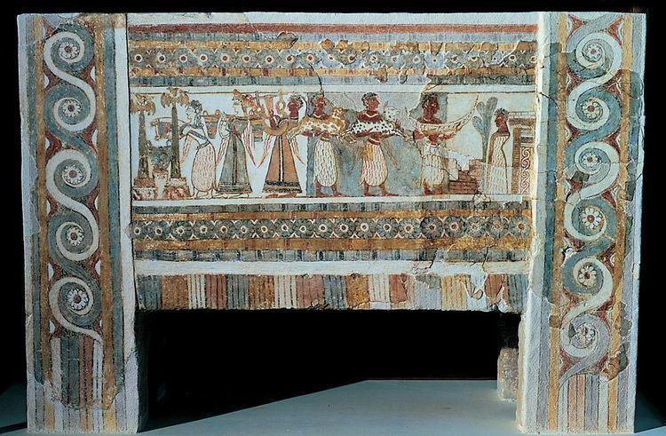 Hagia Triada Sarcophagus from Hagia Triada Aegean Prehistory Pinterest The
