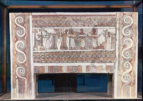 Hagia Triada Minoan Art The Agia Triada Fresco
