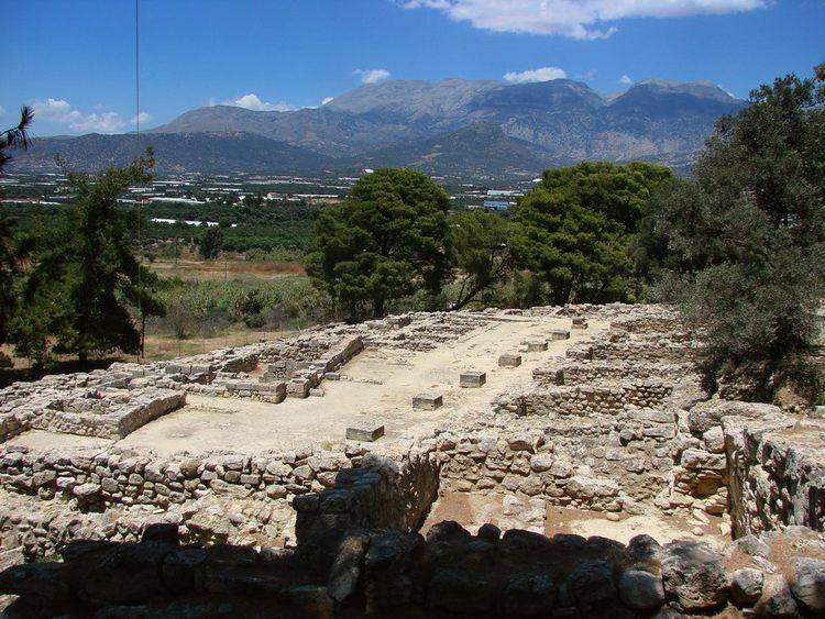 Hagia Triada Archaeological Site of Agia Triada