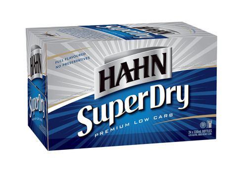 Hahn Super Dry HAHN SUPER DRY CARTON