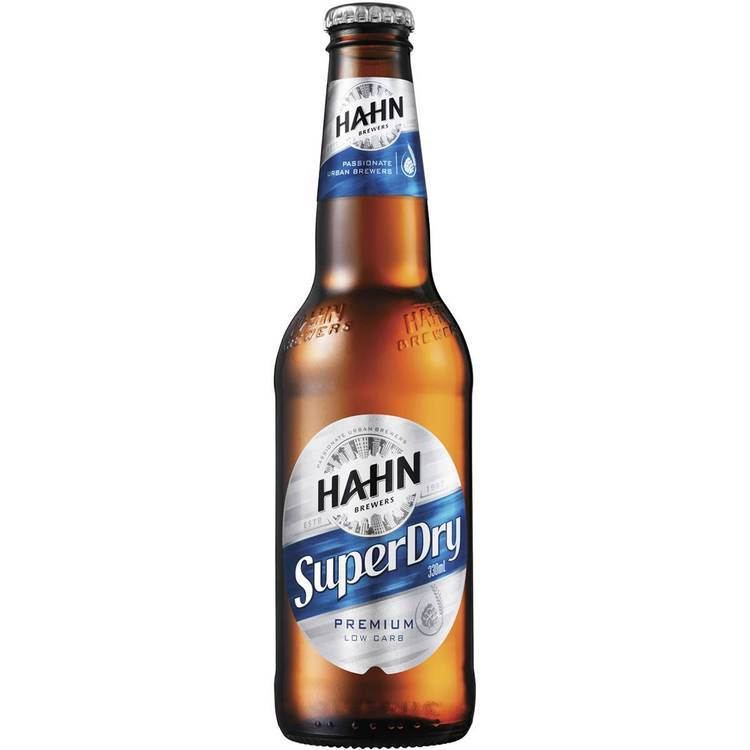 Hahn Super Dry low carb beer