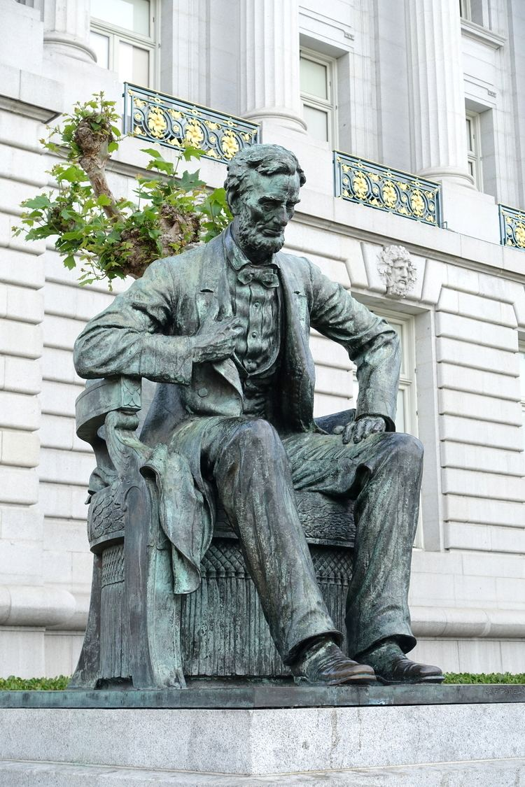 Haig Patigian FileAbraham Lincoln by Haig Patigian San Francisco City Hall