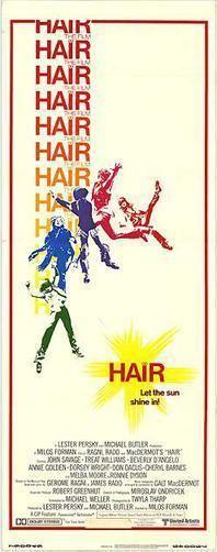 Hair (film) movie poster
