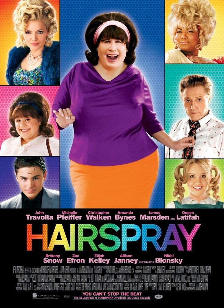 Hairspray (2007 film) Take me to the Movies Hairspray 2007 Pacific City