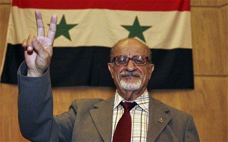 Haitham al-Maleh Head of New Syrian Government39s Legal Committee Calls for