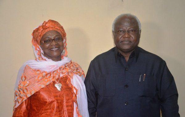 Haja Afsatu Kabba Haja Afsatu Kabba Takes Leave of President Koroma Cocorioko