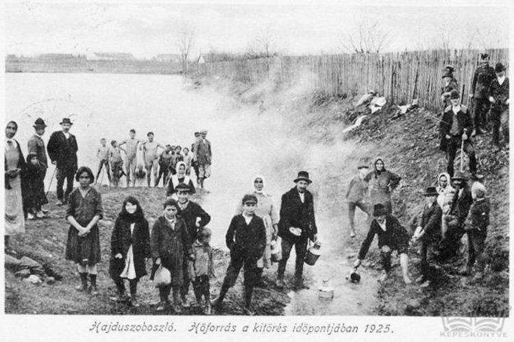 Hajduszoboszlo in the past, History of Hajduszoboszlo