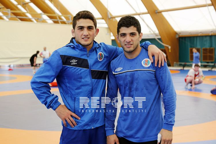 Haji Aliyev Azerbaijani wrestler brothers defeat Armenian