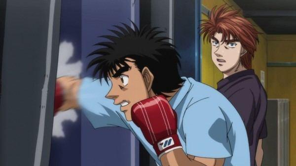 Hajime no Ippo movie scenes Hajime No Ippo Rising Episode 9 01