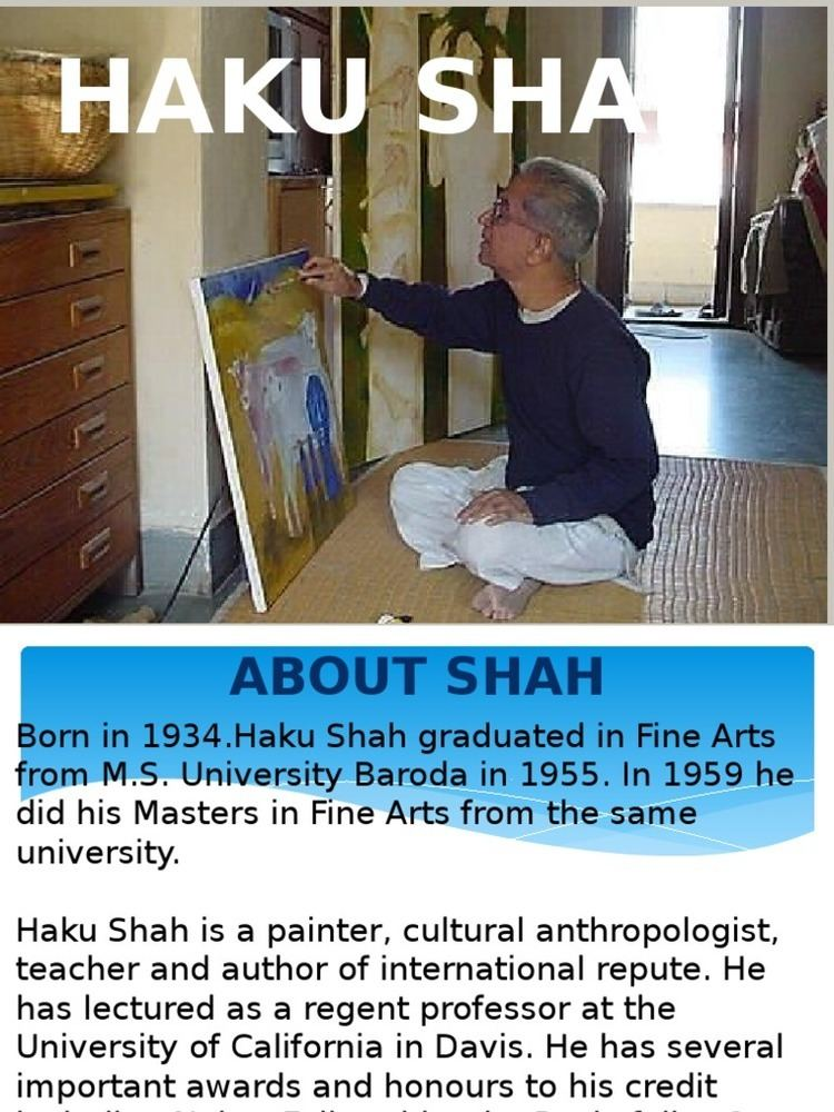 Haku Shah haku shah Art Media Communication Design