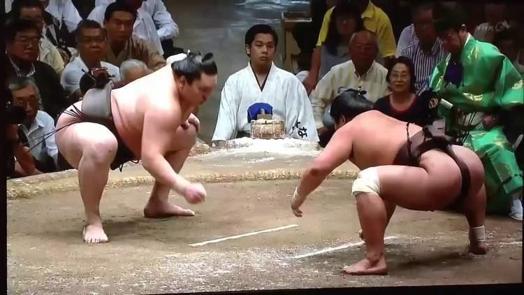 Hakuhō Shō Hakuho Sh quotThe Best Sumo of All Timequot HD Yokozuna Highlights YouTube