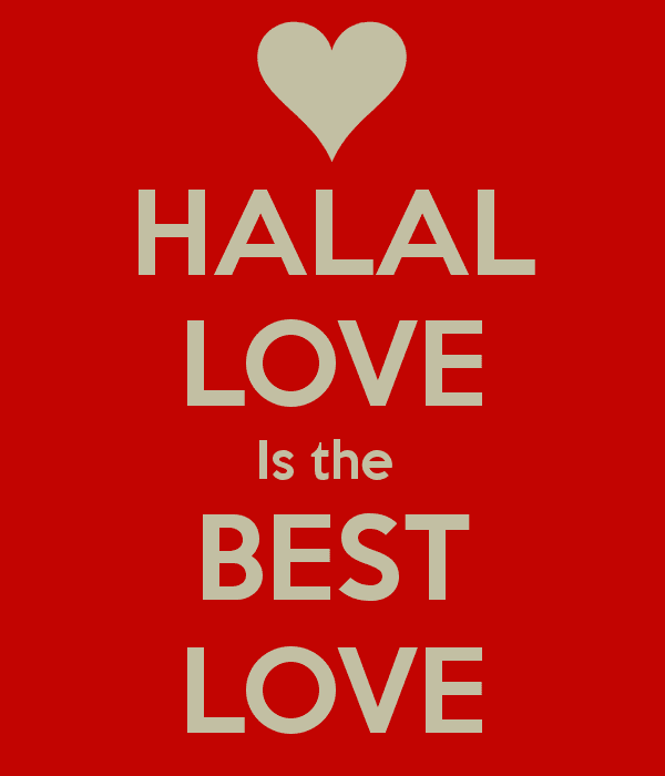 Halal Love HALAL LOVE Is the BEST LOVE Poster Rochelle Keep CalmoMatic