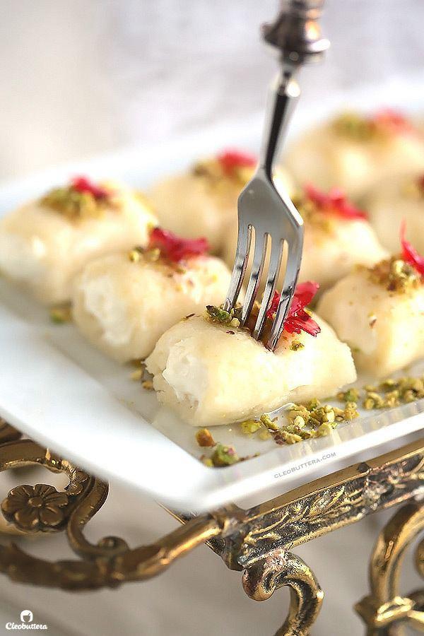 Halawet el Jibn Halawet El Jibn Sweet Cheese Rolls Cleobuttera