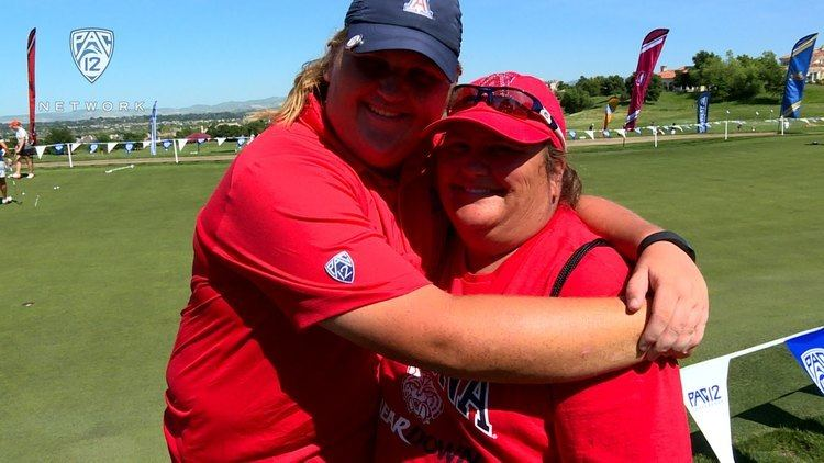 Haley Moore Arizonas Haley Moore gets surprised by mom sets Pac12 womens