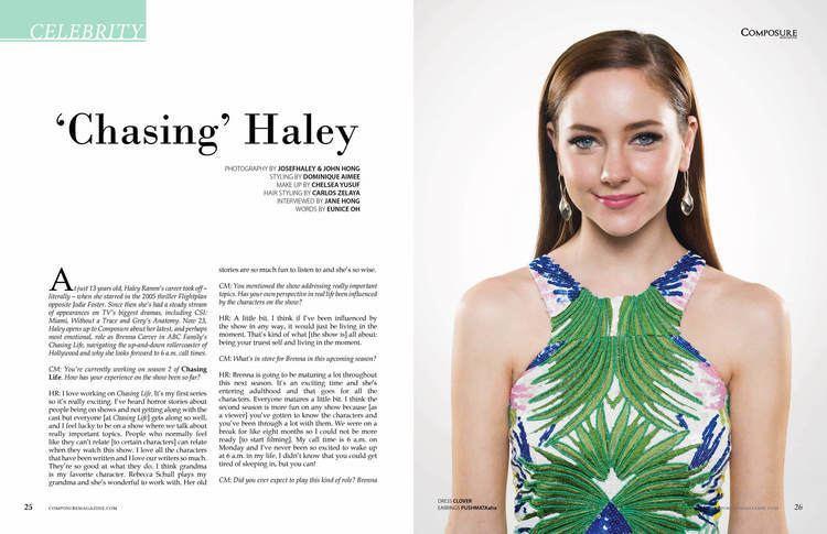 Haley Ramm Haley Ramm Composure Magazine