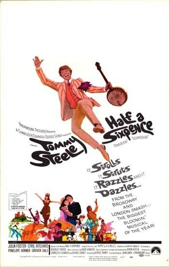 Half a Sixpence (film) Half a Sixpence original film poster Movie Poster Studio 926