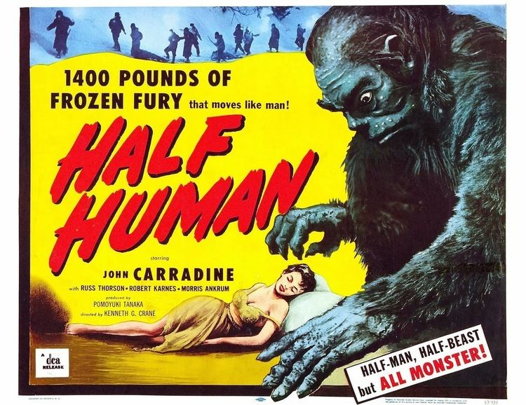 Half Human Cool Ass Cinema Cult Film Faves Not On DVD Half Human 1955 review