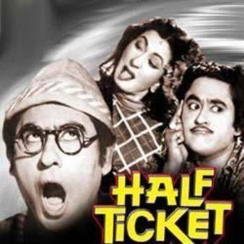 Half Ticket 1962 Salil Chowdhury Listen to Half Ticket songs