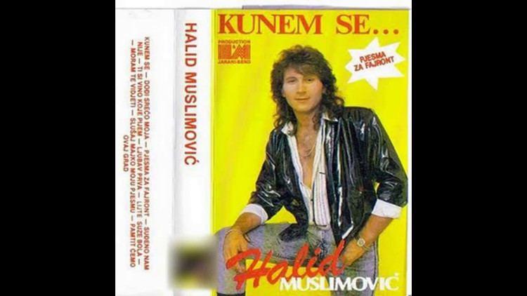 Halid Muslimović Halid Muslimovic Kunem se Audio 1989 HD YouTube