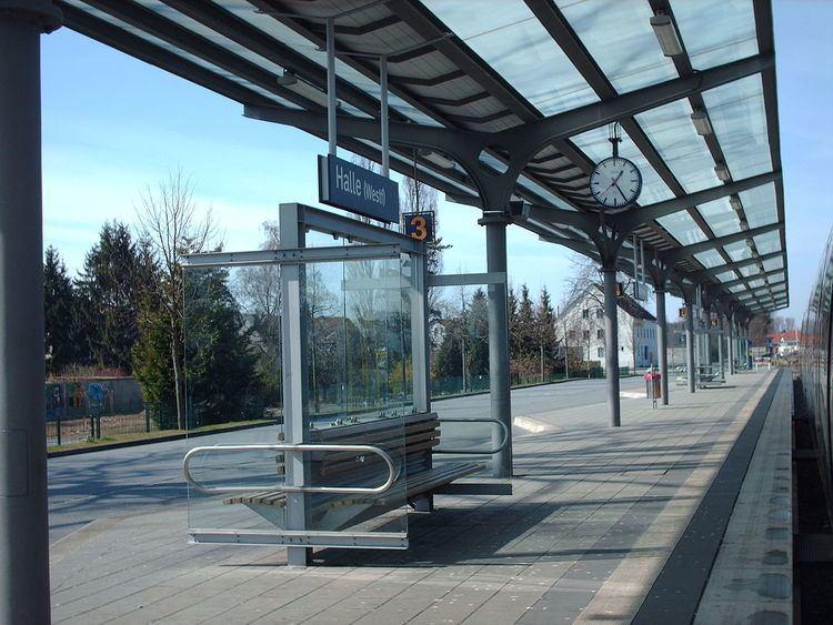 Halle (Westf) station