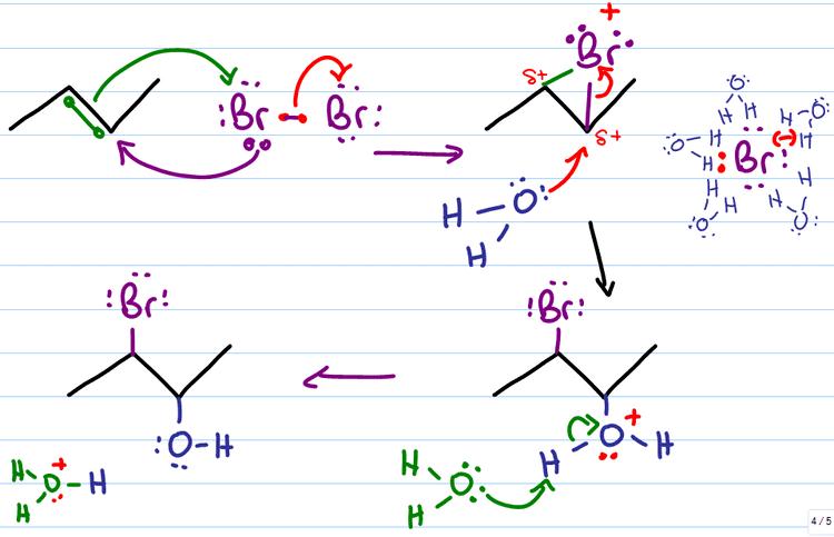 Halohydrin Halohydrin Formation Alkene Reaction Mechanism