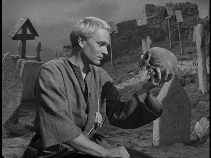 Hamlet (1948 film) Art in Film Hamlet 1948 Vivien Leigh and Laurence Olivier