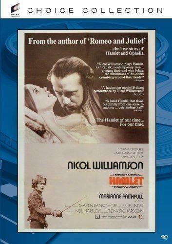 Hamlet (1969 film) DVD REVIEW HAMLET 1969 STARRING NICOL WILLIAMSON MARIANNE