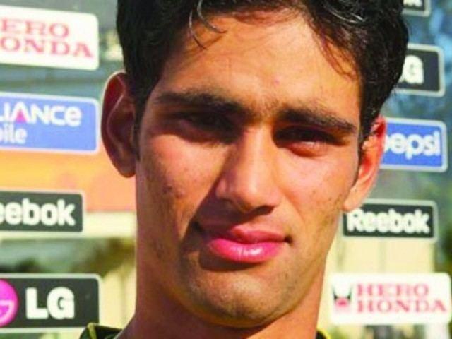 Hammad Azam (Cricketer) playing cricket