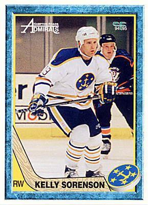 Hampton Roads Admirals Hampton Roads Admirals 199495 Hockey Card Checklist at hockeydbcom