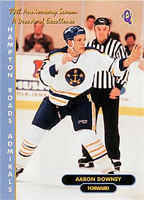 Hampton Roads Admirals Hampton Roads Admirals 199899 QCards Hockey Card Checklist at