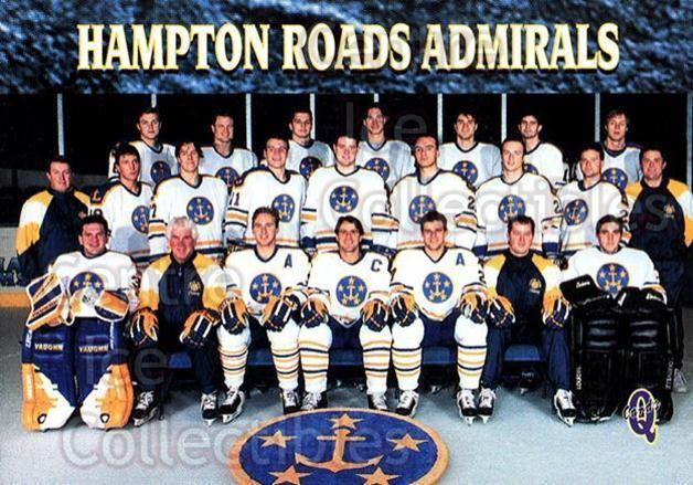 Hampton Roads Admirals Center Ice Collectibles 199596 Hampton Roads Admirals Hockey Cards