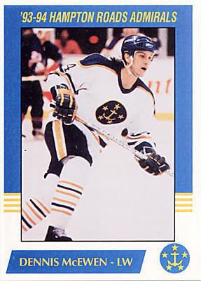 Hampton Roads Admirals Hampton Roads Admirals hockey card set gallery ECHL at hockeydbcom