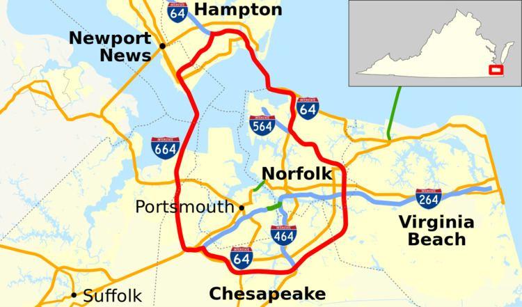 Hampton Roads Beltway