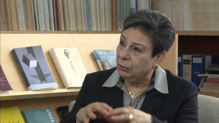 Hanan Ashrawi Hanan Ashrawi on Oslo Academia and Women in Politics Part 1