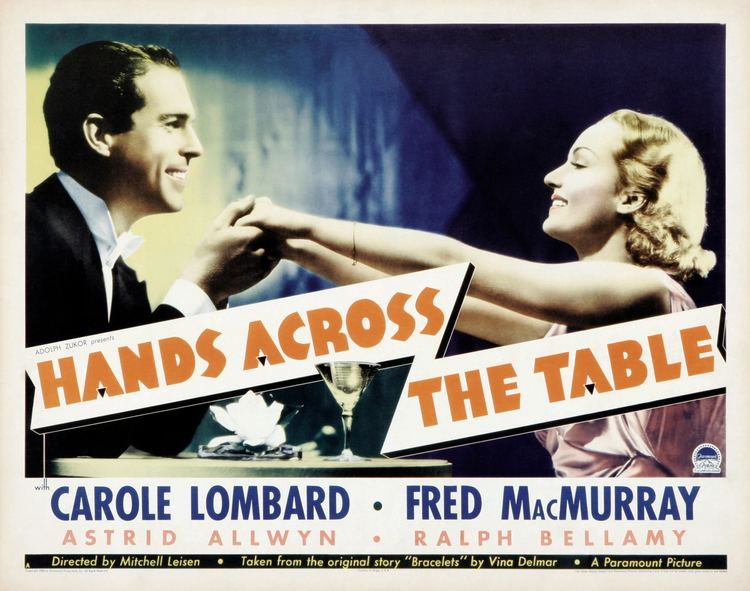 Hands Across the Table Hands Across the Table 1935 The Blonde at the Film