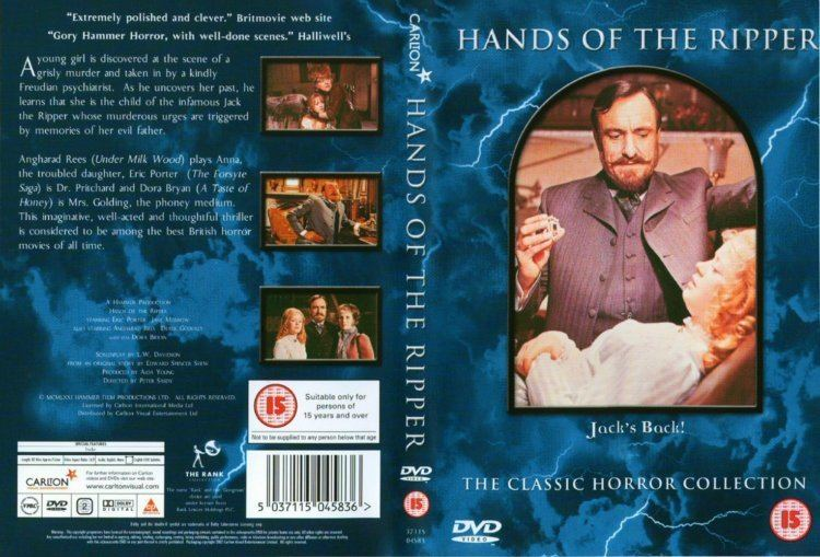 Hands of the Ripper HANDS OF THE RIPPER HAMMER HORROR for sale