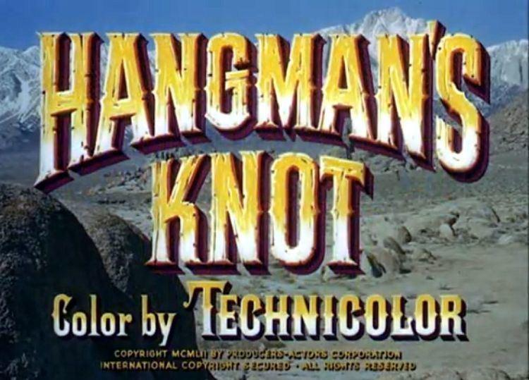 Hangmans Knot movie scenes Two tough hombres