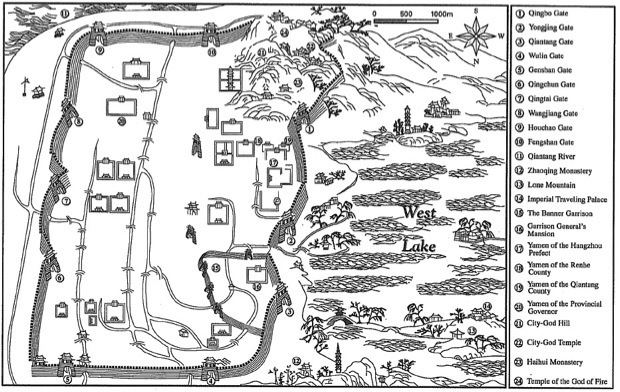 Hangzhou in the past, History of Hangzhou