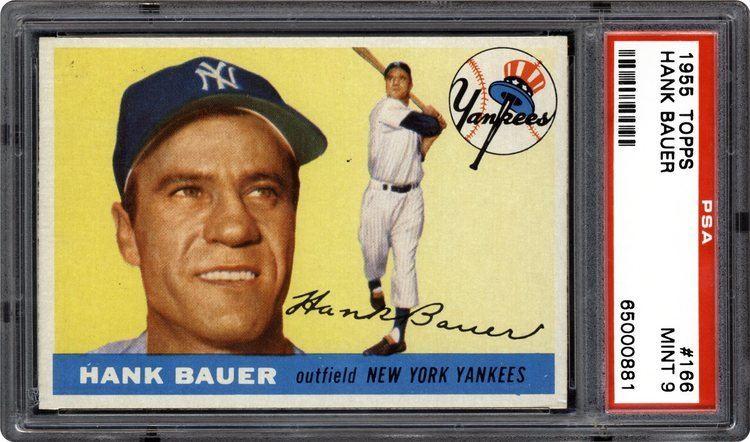 Hank Bauer 1955 Topps Hank Bauer PSA CardFacts