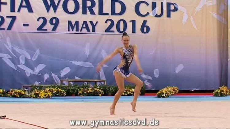 Hanna Bazhko Hanna Bazhko BLR Senior 09 WorldCup Sofia 2016 YouTube